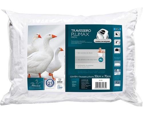 Travesseiro Plumax Percal