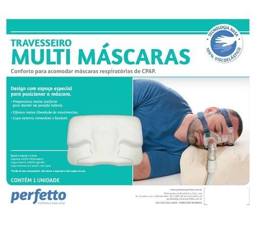 Travesseiro Multi Máscara