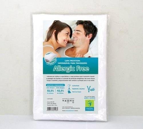 Capa Protetora Antialérgica para Travesseiro
