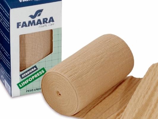 Atadura linfopress / Famara