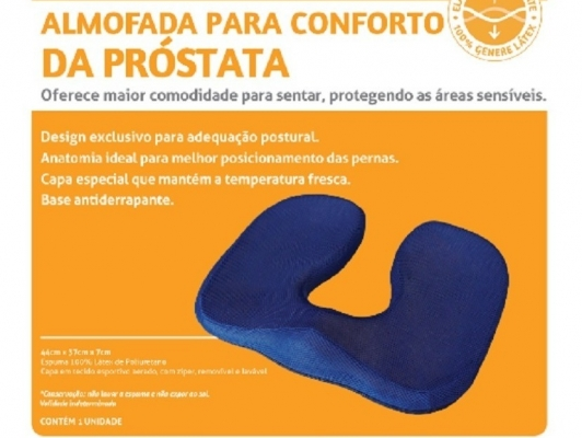 Almofada para conforto da próstata/ Perfetto