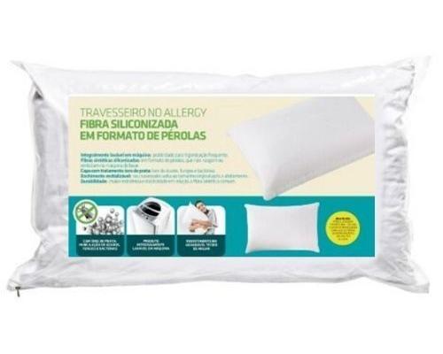 Travesseiro com Fibras Siliconizadas em formato de Pérola