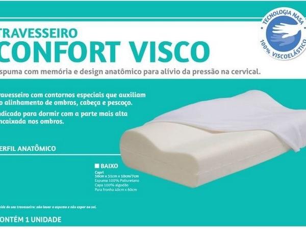 Travesseiro Comfort Visco