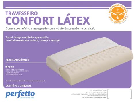 Travesseiro Confort Latex
