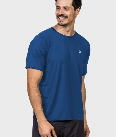 Camiseta com Proteção Solar Uvpro Masculina UV.LINE