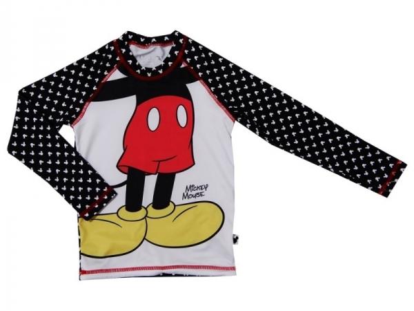Camiseta Menino Acqua Mickey Disney Ml com Proteção Solar U.V. Line