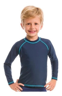 Uv Line Camiseta Cs Manga Longa Infantil