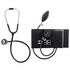 Kit Aparelho Bic pressão Estetoscópio e Esfignomanômetro
